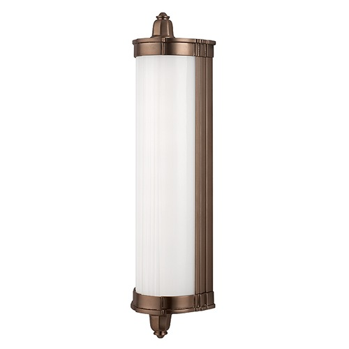 Hudson Valley Lighting Nichols Brushed Bronze LED Bathroom Light 708-BB