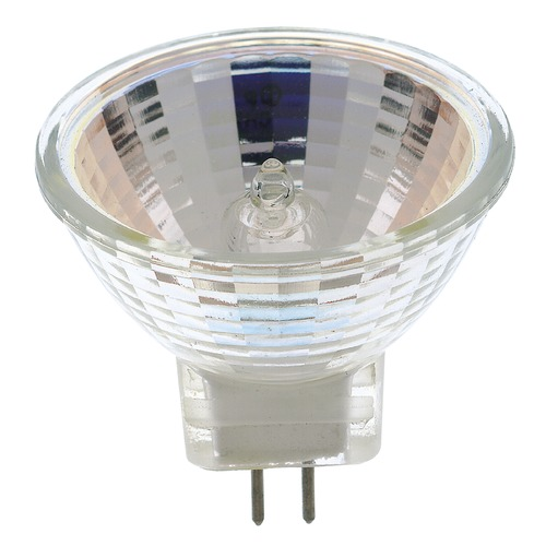 Satco Lighting MR-11 Halogen Light Bulb 2 Pin Narrow Spot 9 Degree Beam Spread 2900K 12V Dimmable S3194