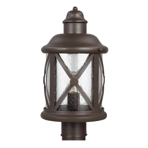 Sea Gull Lighting Sea Gull Lighting Lakeview Antique Bronze Post Light 8221401-71