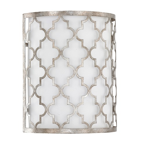 Capital Lighting Capital Lighting Ellis Antique Silver Sconce 4546AS-566