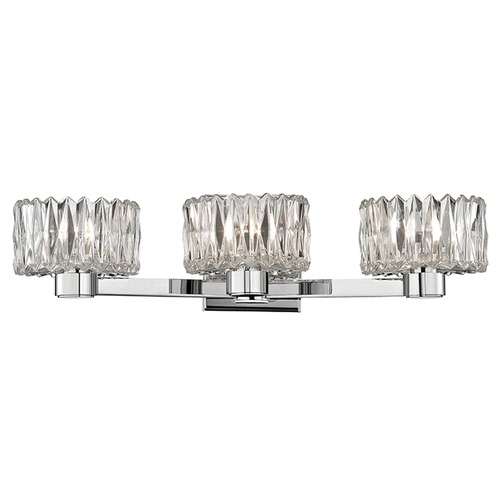 Hudson Valley Lighting Anson 3 Light Bathroom Light - Polished Chrome 2173-PC