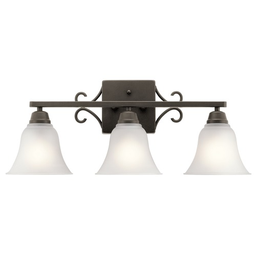 Kichler Lighting Kichler Lighting Bixler Olde Bronze Bathroom Light 45940OZ