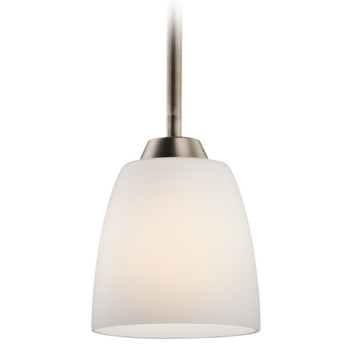 Kichler Lighting Kichler Brushed Pewter Granby Mini-Pendant Light 42562BPT