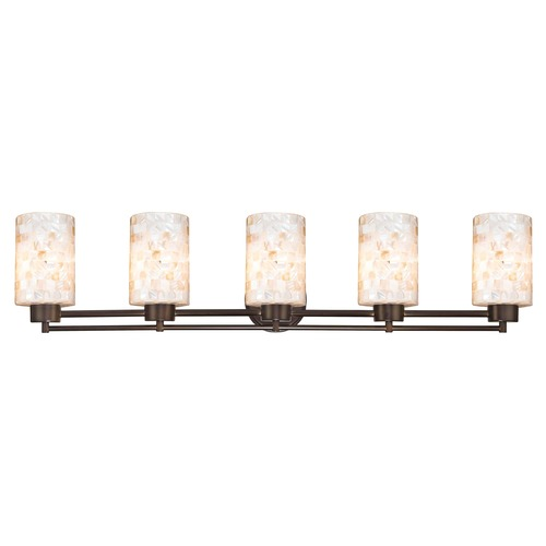 Design Classics Lighting Design Classics Salida Fuse Neuvelle Bronze Bathroom Light 706-220 GL1026C