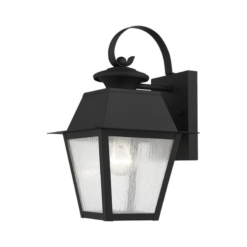 Livex Lighting Livex Lighting Mansfield Black Outdoor Wall Light 2162-04