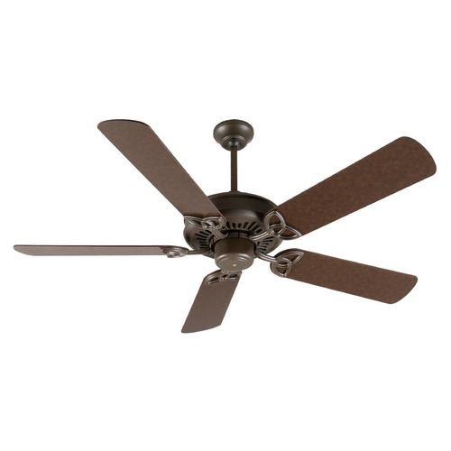 Craftmade Lighting Craftmade Lighting American Tradition Aged Bronze Textured Ceiling Fan Without Light K10811