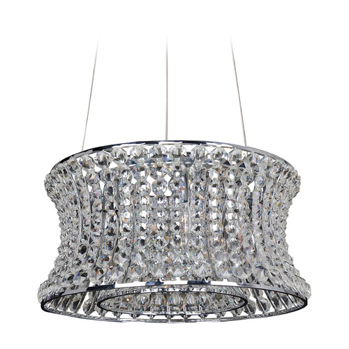 Allegri Lighting Corsette 16.5in Round Pendant 11730-010-FR001