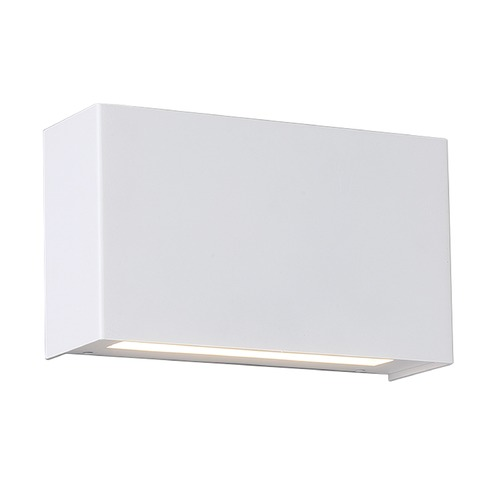 WAC Lighting Blok LED Wall Sconce WS-25612-WT