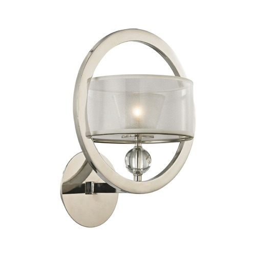 Elk Lighting Elk Lighting Corisande Polished Nickel Sconce 31295/1