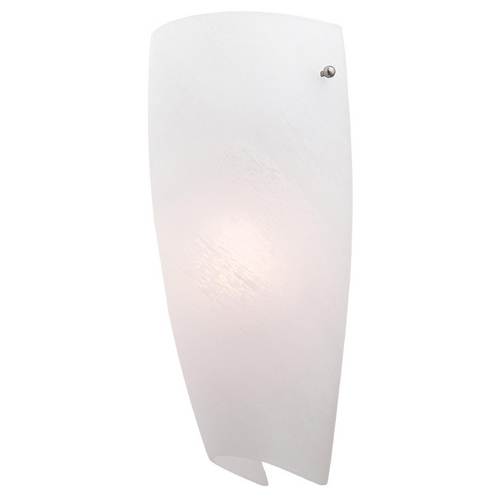 Access Lighting Modern Sconce Wall Light with Alabaster Glass 20415-ALB