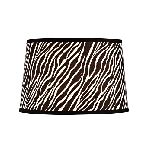 Design Classics Lighting Zebra Drum Lamp Shade with Spider Assembly SH9549