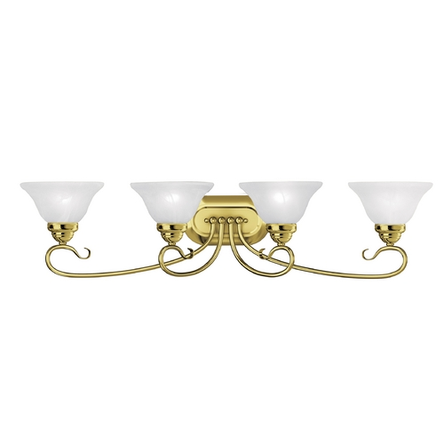 Livex Lighting Livex Lighting Coronado Polished Brass Bathroom Light 6104-02