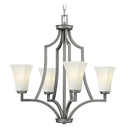 Hinkley Lighting Hinkley Lighting Spencer Brushed Nickel Chandelier 4194BN