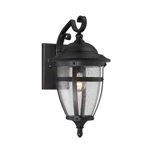 Savoy House Savoy House English Bronze W/gold Outdoor Wall Light 5-5050-1-213
