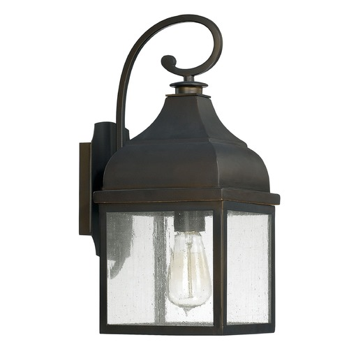 Capital Lighting Capital Lighting Westridge Old Bronze Outdoor Wall Light 9641OB