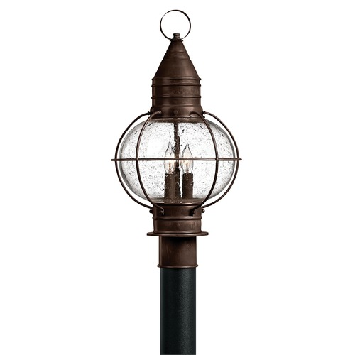 Hinkley Lighting Hinkley Lighting Capecod Sienna Bronze LED Post Light 2207SZ-LED