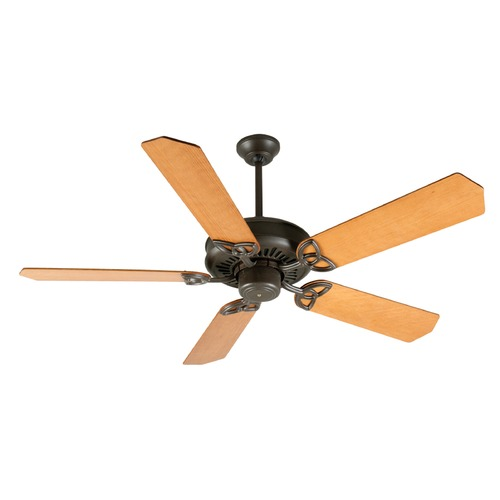 Craftmade Lighting Craftmade Lighting American Tradition Aged Bronze Textured Ceiling Fan Without Light K10812