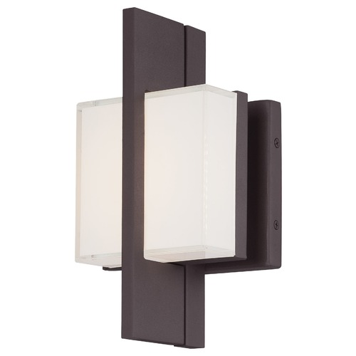 Minka Lavery Minka Lighting Lynhaven Alder Bronze LED Outdoor Wall Light 1245-246-L