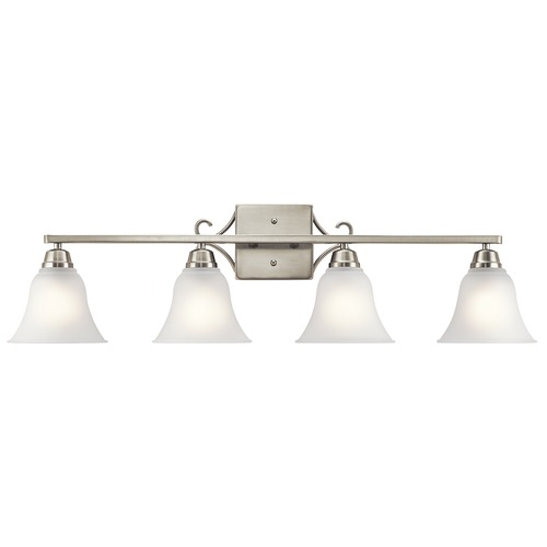 Kichler Lighting Kichler Lighting Bixler Brushed Nickel Bathroom Light 45941NI