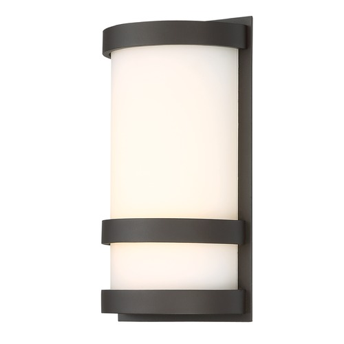 WAC Lighting Latitude LED Outdoor Wall Light WS-W52610-BZ