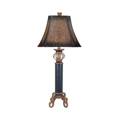 Dimond Lighting Console & Buffet Lamp with Brown Shade 96-634