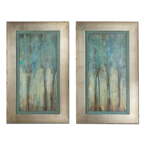 Uttermost Lighting Uttermost Whispering Wind Framed Art, Set of 2 41410
