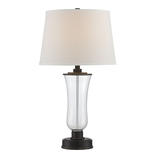 Lite Source Lighting Lite Source Prisco Copper Bronze Table Lamp with Empire Shade LS-22547