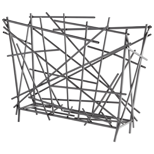 Cyan Design Cyan Design Pick Up Sticks Graphite Magazine Rack 06198