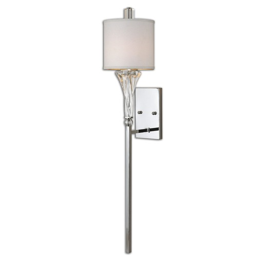 Uttermost Lighting Uttermost Grancona 1 Light Chrome Wall Sconce 22495