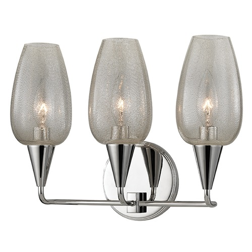Hudson Valley Lighting Longmont 3 Light Bathroom Light - Polished Nickel 4703-PN