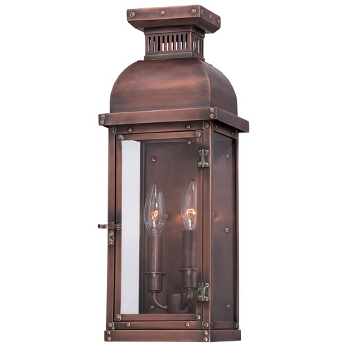 Minka Lavery Minka Lighting Copperton Manhattan Copper Outdoor Wall Light 9071-264