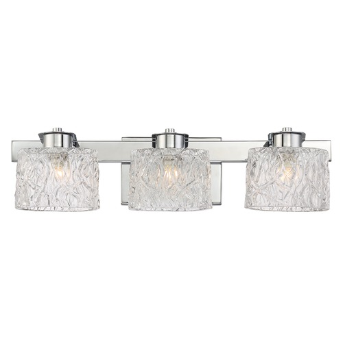 Quoizel Lighting Quoizel Lighting Platinum Collection Seaview Polished Chrome Bathroom Light PCSW8603CLED
