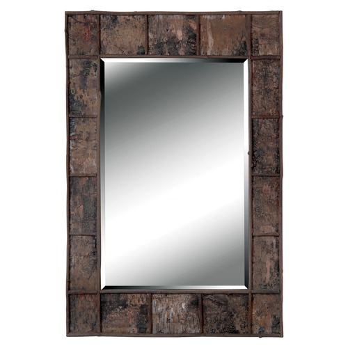 Kenroy Home Lighting Birch Rectangle 28-Inch Mirror 61002