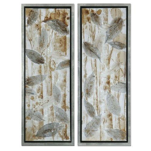 Uttermost Lighting Uttermost Pressed Leaves, Set of 2 41412