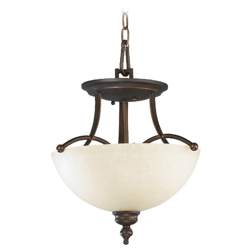 Quorum Lighting Quorum Lighting Aspen Oiled Bronze Pendant Light 2877-14-86