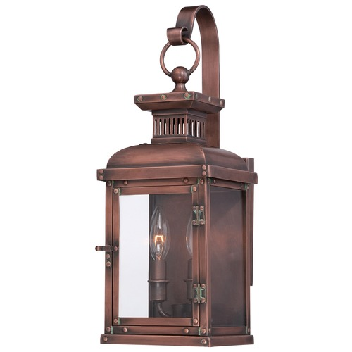 Minka Lighting Minka Lighting Copperton Manhattan Copper Outdoor Wall Light 9072-264