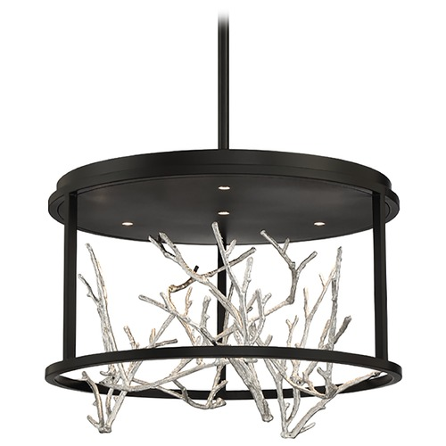 Eurofase Lighting Eurofase Lighting Aerie Black / Silver LED Mini-Chandelier 38636-028