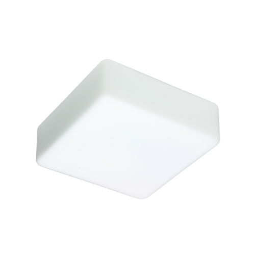 Besa Lighting Flushmount Light with White Glass 888307C