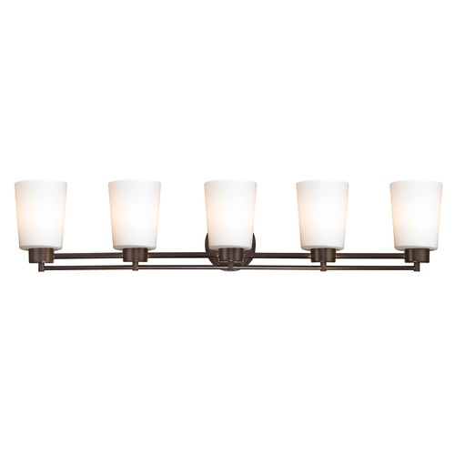 Design Classics Lighting Design Classics Salida Fuse Neuvelle Bronze Bathroom Light 706-220 GL1027