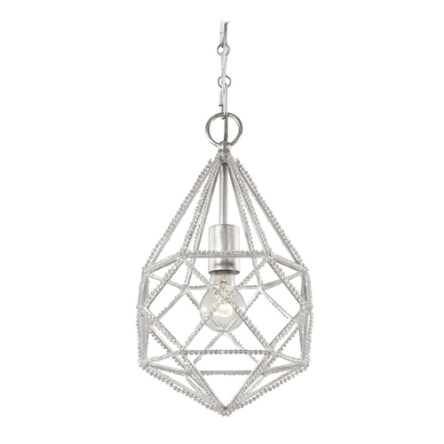 Feiss Lighting Feiss Lighting Marquise Silver Mini-Pendant Light P1313SLV