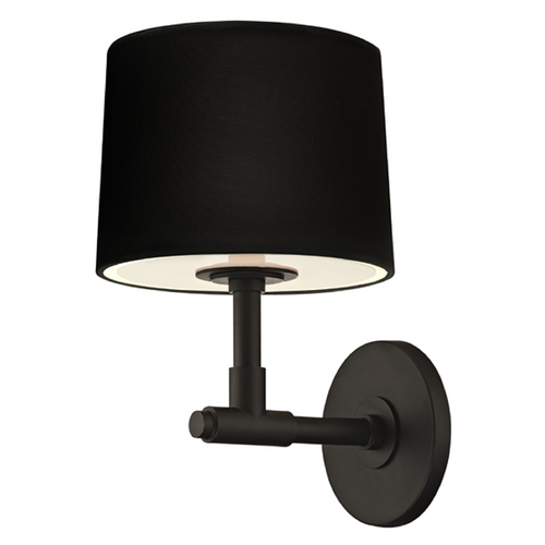 Sonneman Lighting Sonneman Lighting Soho Satin Black Sconce 4950.25