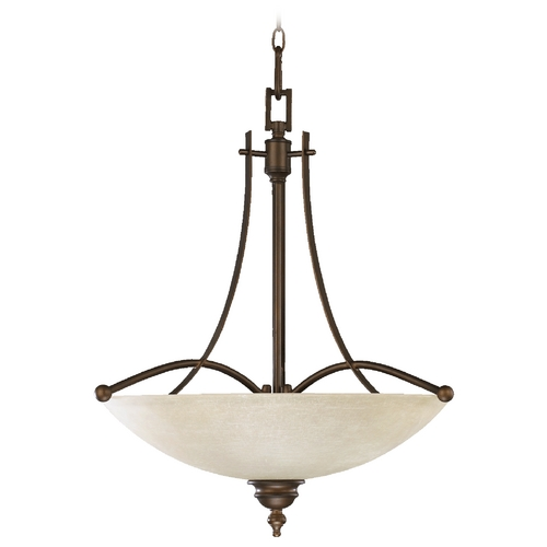 Quorum Lighting Quorum Lighting Aspen Oiled Bronze Pendant Light 8177-4-86