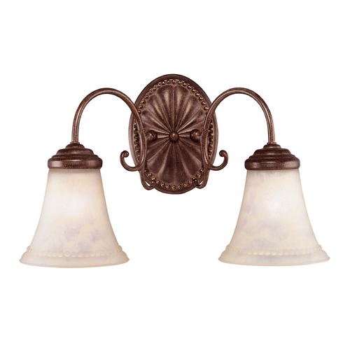 Savoy House Savoy House Walnut Patina Bathroom Light KP-8-510-2-40