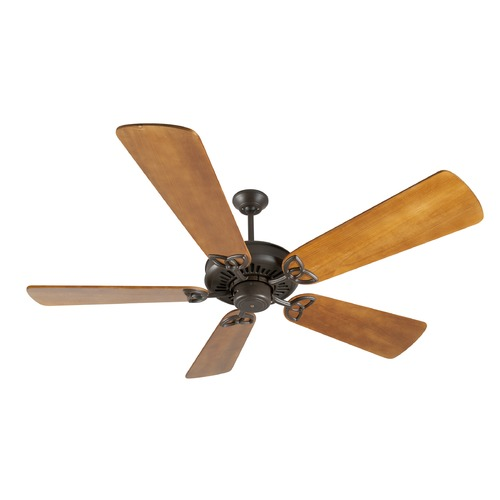 Craftmade Lighting Craftmade Lighting American Tradition Aged Bronze Textured Ceiling Fan Without Light K10815