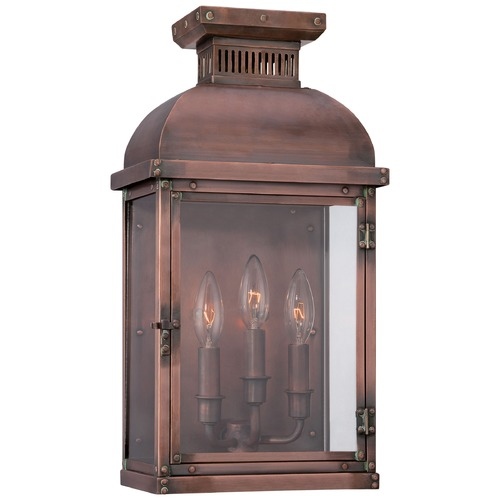 Minka Lavery Minka Lighting Copperton Manhattan Copper Outdoor Wall Light 9073-264