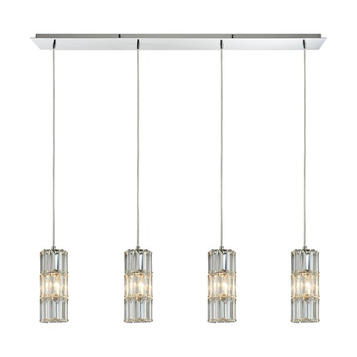 Elk Lighting Elk Lighting Cynthia Polished Chrome Multi-Light Pendant 31486/4LP