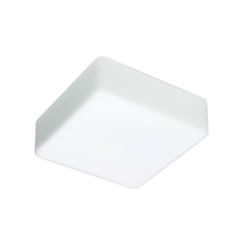 Besa Lighting Flushmount Light with White Glass 888407C