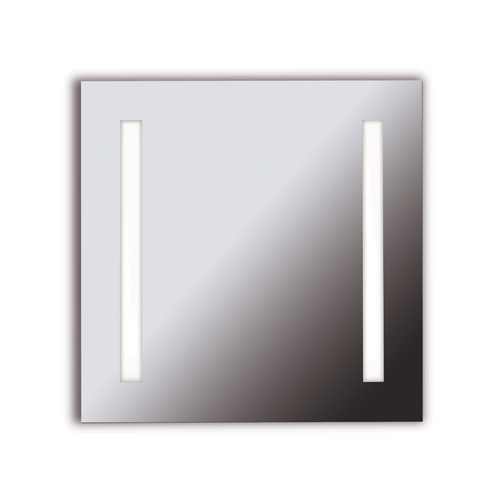 Kenroy Home Lighting Rifletta Square 25.63-Inch Illuminated Mirror 90830