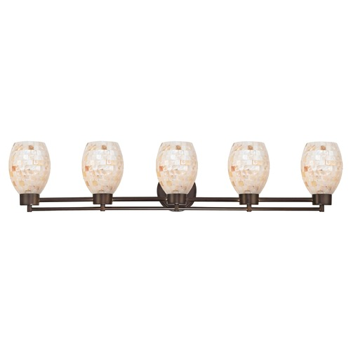 Design Classics Lighting Design Classics Salida Fuse Neuvelle Bronze Bathroom Light 706-220 GL1034