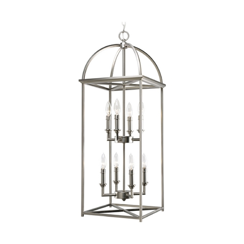 Progress Lighting Progress Pendant Light in Burnished Silver Finish P3888-126